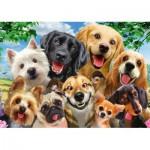 Puzzle  Schmidt-Spiele-58390 Dogs' Selfy