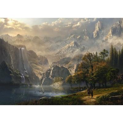 Puzzle  Schmidt-Spiele-58399 Waterfall