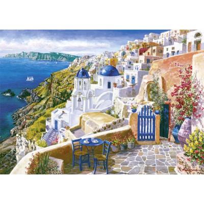 Puzzle  Schmidt-Spiele-58560 Sam Park: Blick von Santorini