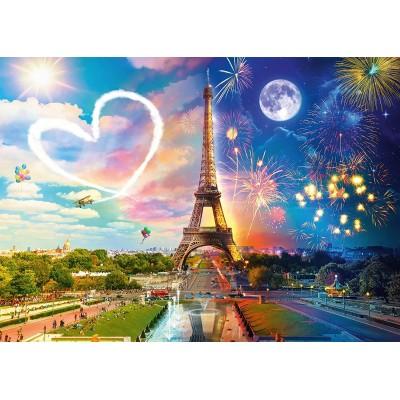 Puzzle  Schmidt-Spiele-58941 Paris Day and Night