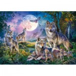 Puzzle  Schmidt-Spiele-58954 Wölfe