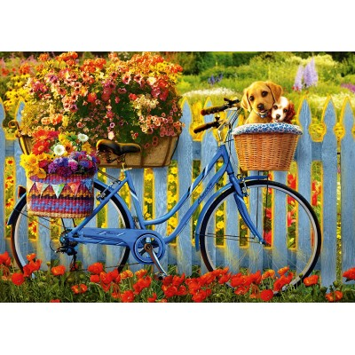 Puzzle  Schmidt-Spiele-58957 Sunday Excursion with Good Friends