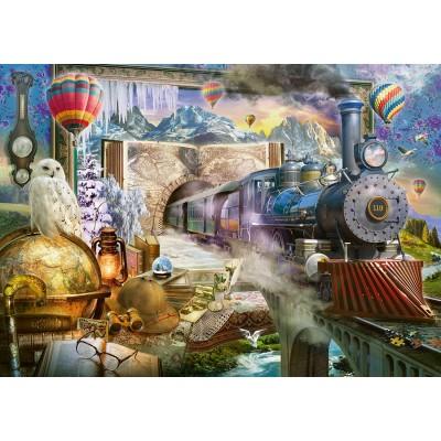 Puzzle  Schmidt-Spiele-58964 Magische Reise