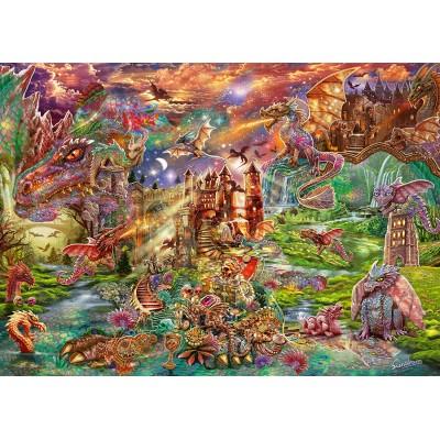 Puzzle  Schmidt-Spiele-58971 Drachen