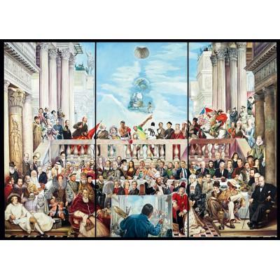 Puzzle  Schmidt-Spiele-59270 Renato Casaro: Sic Transit Gloria Mundi
