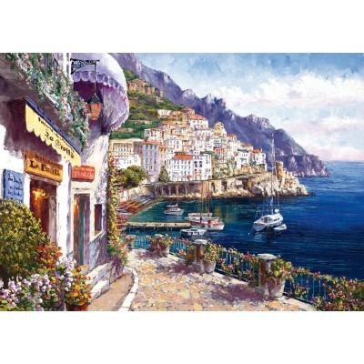 Puzzle  Schmidt-Spiele-59271 Sam Park, Amalfi am Nachmittag