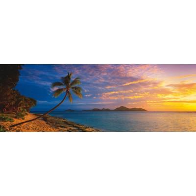 Puzzle  Schmidt-Spiele-59288 Mark Gray: Sonnenuntergang auf Tokoriki, Mamanuca, Fidji