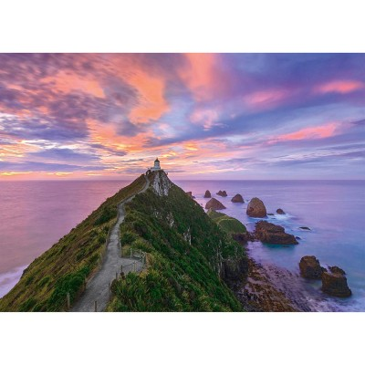 Puzzle  Schmidt-Spiele-59348 Nugget Point Lighthouse, The Catlins, South Island - New Zealand