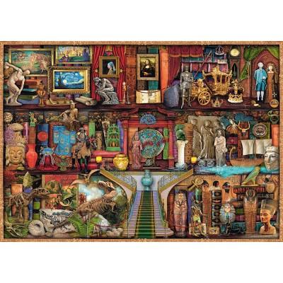 Puzzle  Schmidt-Spiele-59378 Aimee Stewart - Kunstschätze