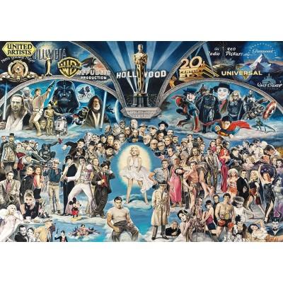 Puzzle  Schmidt-Spiele-59398 Renato Casaro - Hollywood