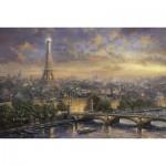 Puzzle  Schmidt-Spiele-59470 Thomas Kinkade:  Paris, Stadt der Liebe