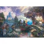 Puzzle  Schmidt-Spiele-59472 Thomas Kinkade - Cinderella