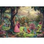 Puzzle  Schmidt-Spiele-59474 Thomas Kinkade - Disney, Dornröschen