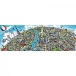 Puzzle  Schmidt-Spiele-59597 Stadtbild Paris