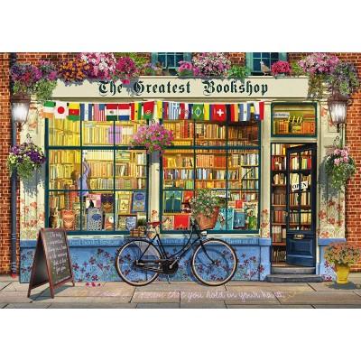Puzzle  Schmidt-Spiele-59604 Buchhandlung
