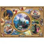 Puzzle  Schmidt-Spiele-59607 Thomas Kinkade - Disney Dreams Collection