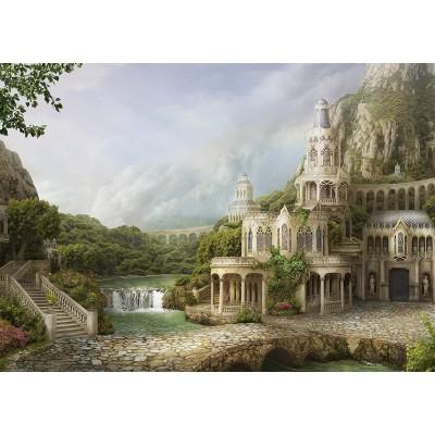 Puzzle  Schmidt-Spiele-59611 Palais in den Bergen