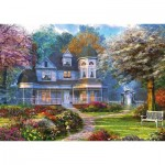 Puzzle  Schmidt-Spiele-59616 Dominic Davison - Victorian Mansion