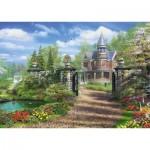 Puzzle  Schmidt-Spiele-59618 Dominic Davison - Idyllisches Landgut