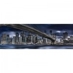 Puzzle  Schmidt-Spiele-59621 Manfred Voss - New York Dark Night