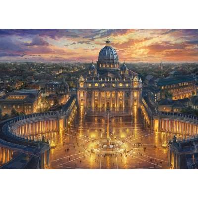 Puzzle  Schmidt-Spiele-59628 Thomas Kinkade - Vatikan