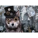 Puzzle  Schmidt-Spiele-59647 Steampunk Wolf