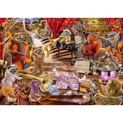 Puzzle  Schmidt-Spiele-59664 Steve Sundram - Music Mania
