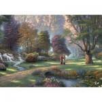 Puzzle  Schmidt-Spiele-59677 Thomas Kinkade, Spirit, Weg des Glaubens