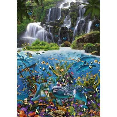 Puzzle  Schmidt-Spiele-59684 John Enright - Waterfall