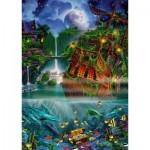 Puzzle  Schmidt-Spiele-59685 John Enright - Versunkener Schatz