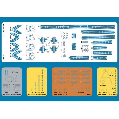 Puzzle  Schreiber-Bogen-4374 Kartonmodelbau: Lasercutsatz Bleichen