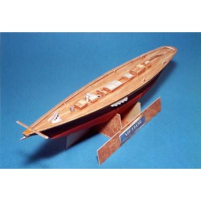Puzzle Schreiber-Bogen-573 Kartonmodelbau: Imperial Sailboat Meteor I
