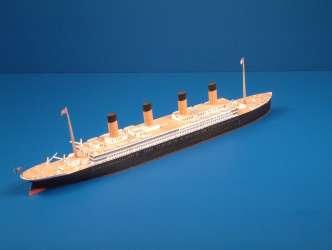 Puzzle  Schreiber-Bogen-598 Kartonmodelbau: Titanic