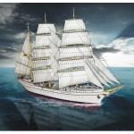 Puzzle  Schreiber-Bogen-616 Kartonmodelbau: Segelboot Gorch Fock