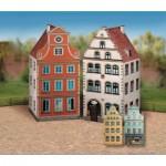 Puzzle  Schreiber-Bogen-627 Kartonmodelbau: Altstadt-Set 1