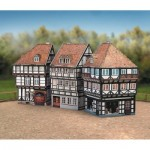 Puzzle  Schreiber-Bogen-628 Kartonmodelbau: Altstadt-Set 2