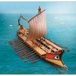 Puzzle  Schreiber-Bogen-629 Kartonmodelbau: Griechische Bireme