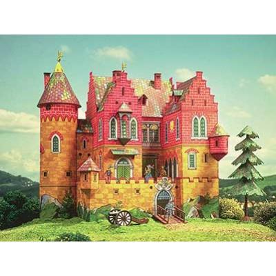 Puzzle  Schreiber-Bogen-634 Kartonmodelbau: Ritterburg