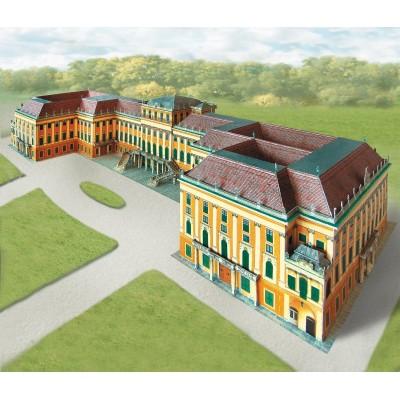 Puzzle  Schreiber-Bogen-635 Kartonmodelbau: Schloss Schönbrunn Wien