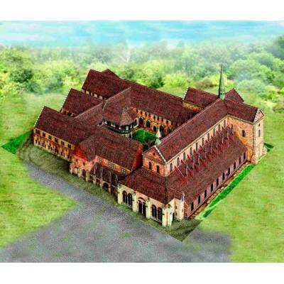 Puzzle  Schreiber-Bogen-636 Kartonmodelbau: Kloster Maulbronn