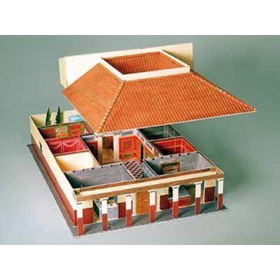 Puzzle  Schreiber-Bogen-639 Kartonmodelbau: Das römische Landhaus