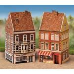 Puzzle  Schreiber-Bogen-640 Kartonmodelbau: Altstadt-Set 3