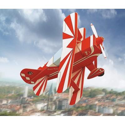 Schreiber-Bogen-647 Kartonmodelbau: Doppeldecker-Flugzeug