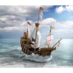 Puzzle  Schreiber-Bogen-648 Kartonmodelbau: The Columbus Ship Santa Maria