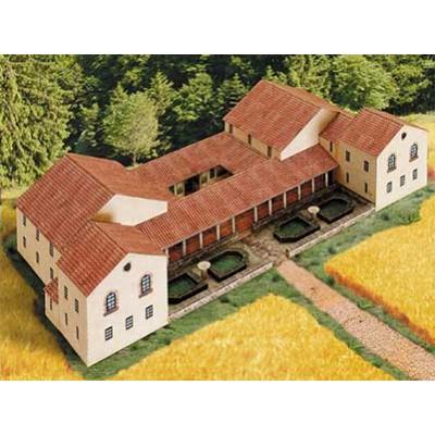 Puzzle  Schreiber-Bogen-650 Kartonmodelbau: Römischer Gutshof Villa rustica