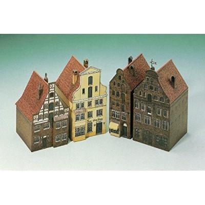 Schreiber-Bogen-662 Kartonmodelbau: 4 Häuser aus Lüneburg II