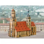 Puzzle  Schreiber-Bogen-664 Kartonmodelbau: Stiftskirche Stuttgart