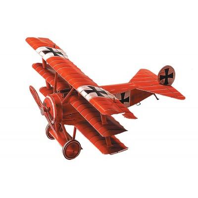 Puzzle Schreiber-Bogen-666 Kartonmodelbau: Fokker DR I