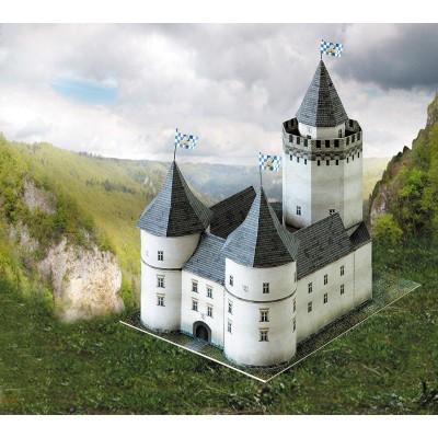 Puzzle  Schreiber-Bogen-667 Kartonmodelbau: Burg Blankenstein