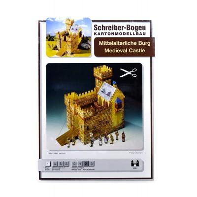 Puzzle  Schreiber-Bogen-676 Kartonmodelbau: Mittelalterliche Burg